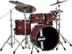 ddrum PWP522 ER Paladin Walnut 5-Piece Drum Set, Ember Red by ddrum. $1499.00. Save 33%!