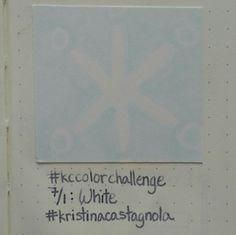 7/1: White #kccolorchallenge #white #kristinacastagnola