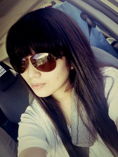 #bangs long hair