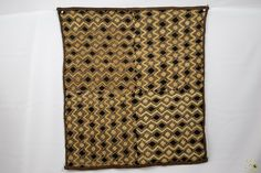 Kuba Cloth ( Shoowa ) Raffia Textile - Congo DRC Congo, Embroidery Thread, Weaving, Textiles, Ebay, Clothes, Outfits, Clothing, Kleding