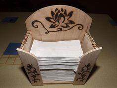 papír zsebkendő tartó