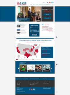 We worked with Justice Fellowship to build and integrate their website with multiple third-party marketing and advocate engagement systems.