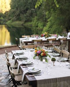 A horse, three dogs, and 25 people celebrated this couple's I do's in this intimate destination celebration under the trees.