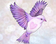 """my Hummingbirds ♥ illustration by Pandesign Studio   Moran Bazaz"