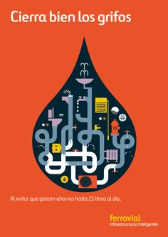 Very nicely doen enviro campaign by hey studio, feels kind of Charlie Harper. I would love to have prints of these framed for somewhere in my house. Logo Design, Graphic Design Typography, Graphic Art, Flat Design, Flat Illustration, Graphic Design Illustration, Hey Studio, Thomas Danthony, Art Graphique