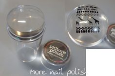 The Digit-al Dozen does 'Nail Heroes': Clear Stampers - with review and where to buy ~ More Nail Polish