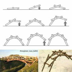 Landscape Structure, Bamboo Structure, Diy Projects For Teens, Diy Wood Projects. Diy Wood Projects, Diy Projects For Teens, Garden Projects, Wood Crafts, Diy And Crafts, Bamboo Structure, Landscape Structure, Woodworking Plans, Woodworking Projects