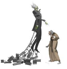 dermot Power - a christmas carol Marley Christmas Carol, Christmas Carol Characters, Character Concept, Concept Art, Jacob Marley, Black White Art, Victorian Christmas, Character Design References, Art Background