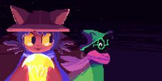 Can't stop thinking about Niko and Ralsei being a cute floofy boi duo, traversing a darkening world on a quest to save it Cartoon Crossovers, Cartoon Gifs, Girl Cartoon, Cat Noises, Jojo Anime, Toby Fox, Fandom Memes, Furry Drawing, Fan Art