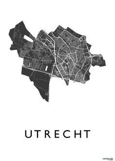 Utrecht - White - Map