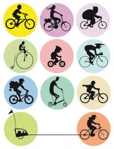 Many Shades of Biking