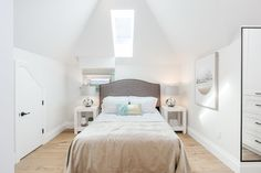 Bedroom designed by Madeleine Design Group in the West End of Vancouver, BC. *Re-pin to your own inspiration board*