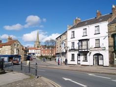 Pickering North Yorkshire, England. My husband and I started our married life in this picturesque market town.