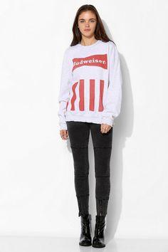 Junk Food Budweiser Pullover Sweatshirt #urbanoutfitters