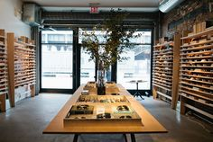 The Warby Parker Annex /   New York, NY - Meatpacking District