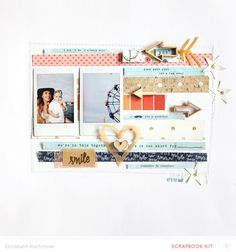 #papercraft #scrapbook #layout. I did I do I always will by dearlizzy at @studio_calico