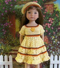 """Sunny Autumn FOR 13"""" Dianna Effner Studio'S Little Darlings Dolls"""