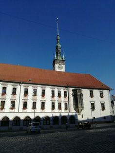 The town hall of Olomouc, read more on travel blog Czech Menu