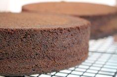 Victoria Sponge Cake Schokolade - Grundrezept für Motivtorten