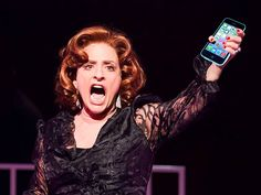 Who do you think you are?! Broadway star Patti LuPone takes on audience texting at SHOWS FOR DAYS #pinoftheday
