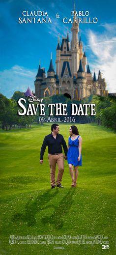 Save the date, Disney, fairy tale, moovie