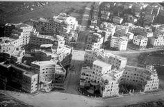 Garbatella - Alberghi suburbani Roma Sparita. Foto storiche di Roma - Best Cities In Europe, Old Photos, Modern Architecture, Rome, San, Urban Design, World, History, Vintage