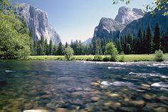 Cathedral Rock, Yosemite Valley.