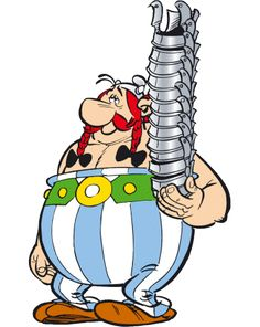 Astérix - Astérix de A a Z - As personagens