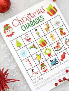 If you're looking for easy holiday party games to keep the kids entertained, print these games! Christmas Bingo, I Spy, Don't Eat Pete, & Christmas Memory. Christmas Games For Girls, Christmas Bingo Game, Fun Christmas Party Games, Family Party Games, Xmas Games, Kids Party Games, Christmas Activities, Kids Christmas, Christmas Parties