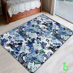 New chiang mai dragon china blue Blanket