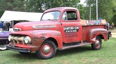 Here are a couple more images, the real Sanford & Son truck was there Old Ford Pickup Truck, 1951 Ford Truck, Vintage Pickup Trucks, Old Pickup, Classic Chevy Trucks, Old Classic Cars, Ford Trucks, Hot Rod Trucks, New Trucks