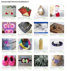 Thank you @wartickravels for including my earrings!  https://www.etsy.com/treasury/NTU1MDA5MTd8MjcyNzczMDk4Ng/saturday-night-finds-from-craftysellers #craftysellers #etsy #treasury #handmadegifts