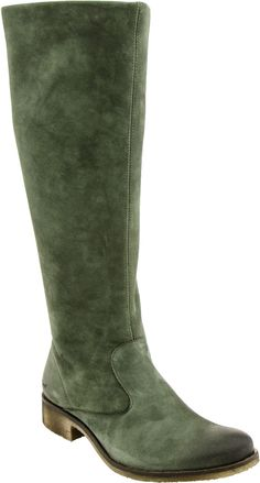 Loving the green hue on these women's boots from Kickers