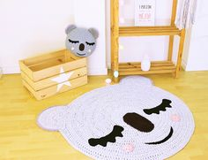 Browse all products from Artesesa. Crochet For Kids, Crochet Toys, Crochet Baby, Baby Hat Knitting Pattern, Crochet Rug Patterns, Nursery Rugs, Nursery Decor, Tricot Baby, Baby Deco