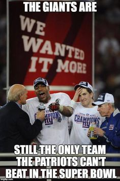 The Giants are still the ONLY Team the Patriots can't beat in the Super Bowl. New York Teams, New York Giants Football, Steelers Football, Football Stuff, Broncos, Football Pictures, Sports Photos, Nfl Season, Football Season