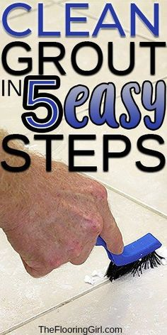 If you are looking for the best tricks to help keep your grout clean, we have outlined the simple and easy way to get your tile looking nice again. Deep Cleaning Tips, House Cleaning Tips, Diy Cleaning Products, Cleaning Solutions, Spring Cleaning, Cleaning Hacks, Cleaning Items, Cleaning Recipes, Toilet Cleaning