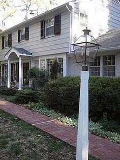 next project on our 1979 ugly garrison colonial - portico