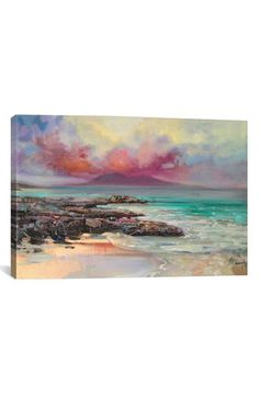 iCanvas 'Harris Rocks' Giclée Print Canvas Art available at #Nordstrom