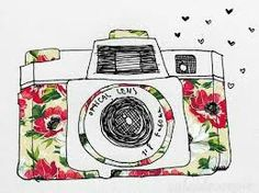 Polaroid Camera Drawing Tumblr Peace Love Smiley Face
