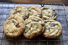 chewy vegan chocolate chip cookies- soy division
