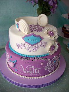 Violetta Cake - by dulcegourmet @ CakesDecor.com - cake decorating website