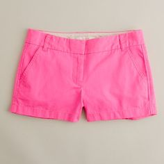 Can't wait till summer so I can pull out my neon pink Jcrew shorts!