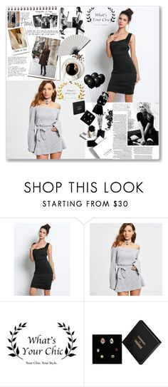 """""""Party with What's your chich"""" by lepa-bobi on Polyvore featuring Garance Doré, Marc Jacobs, H&M, Shourouk and partyrfashion"""