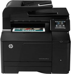 "HP Laserjet $299  4-in-1: print, copy, scan, fax Prints up to 14 ppm black, 14 ppm color (mfr specs) Network ready; Ethernet 10/100Base-TX, USB 2.0 and WiFi 802.11 b/g/n connectivity Up to 600 x 600 dpi resolution Prints up to 8.5"" x 14"" Monthly duty cycle of up to 30,000 pages 150-sheet input tray 125-sheet output bin 35-sheet (ADF) automatic document feeder"