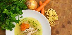Österreichische Hühner Einmach-Suppe Rezept