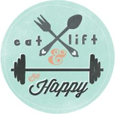 My new favorite fitness blog, Eat, Lift & Be Happy!!     Posts from a woman with 12 years of fitness experience who says aside from pullups and deadlifts, some of her favorite things include red wine, dark chocolate, traveling, yoga, shopping, collecting books, reading with her son and cuddling with her french bulldog.