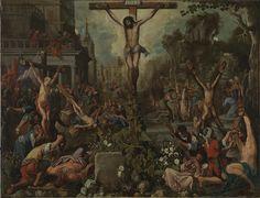 Cristo ejemplo de mártires (hacia 1615), Juan de Roelas (¿-1625) y taller (atribuido a)
