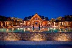 Nandana Villa, Grand Bahama, Bahamas - World's 10 most Spectacular Swimming Pools