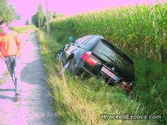 BMW X-Series X5 crashed in Belgium
