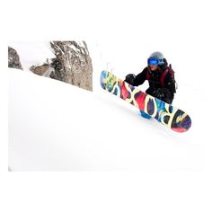 Roxy snowboard ❤ liked on Polyvore